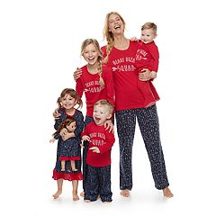 Mommy & Me Jammies For Your Families Heart Break Squad Pajamas