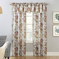 Annette Floral Window Curtain Collection