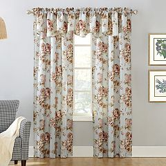 Decorative Annette Floral Window Treatments
