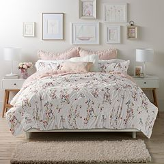 LC Lauren Conrad Origami Duvet Cover Collection