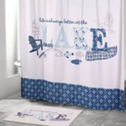 Avanti Lake Life Shower Curtain Collection