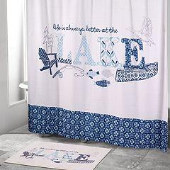 Avanti Lake Life Shower Curtain Collection