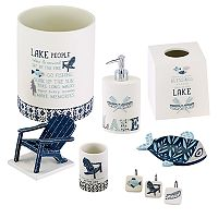 Avanti Lake Life Bath Accessories Collection