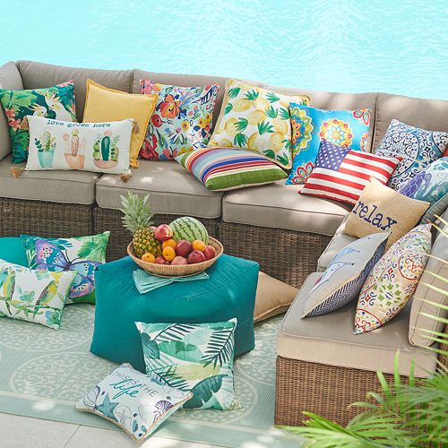 SONOMA Goods for Life™ Indoor Outdoor Pillow & Cushion Collection