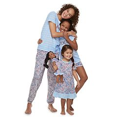 Mommy & Me Jammies For Your Families Floral Matching Family Pajamas