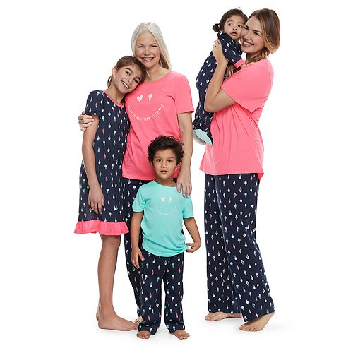 a4f5e7571a9f Mommy   Me Jammies For Your Families Ice Cream Cone Matching Family Pajamas