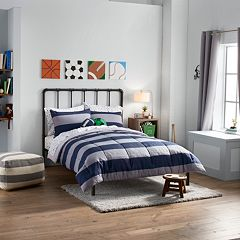 SONOMA Goods for Life™ Kids All Star Rugby Stripe Bedding Collection