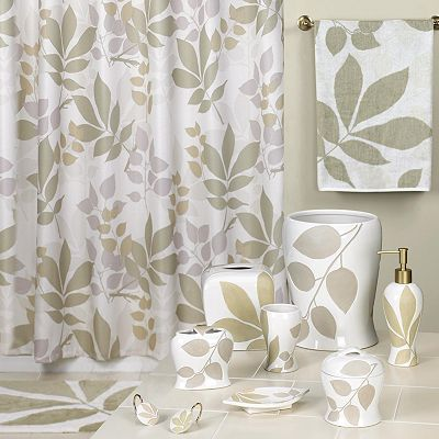 Creative Bath Shadow Leaves Bath Accessories