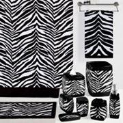 Creative Bath Zebra Bathroom Accessories Collection