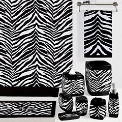 Creative Bath Zebra Bathroom Accessories Collection by