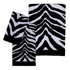 Creative Bath Zebra Bath Towels