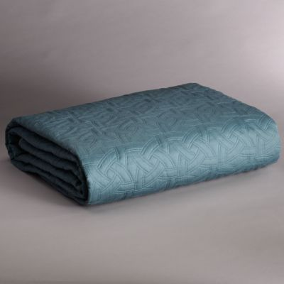 Simply Vera Vera Wang Sky Quilted Coverlet