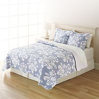 Home Classics® Sarah Damask Quilt Collection