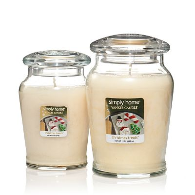 Yankee Candle simply home Christmas Treats Jar Candles