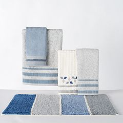 Saturday Knight, Ltd. Cubes Bath Towel Collection