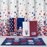 Celebrate Americana Together Stars Shower Curtain Collection