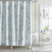 LC Lauren Conrad Carina Medallion Shower Curtain Collection