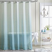 LC Lauren Conrad Dip Dye Shower Curtain Collection