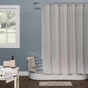 Saturday Knight, Ltd. Davidson Stripe Shower Curtain Collection