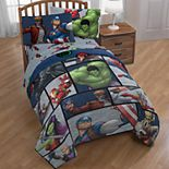 Marvel Avengers: Infinity War Team Up Comforter Collection