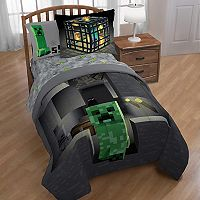 Minecraft Spawn Comforter Collection