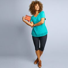 Plus Size Croft & Barrow® Spring Style Collection
