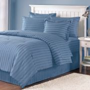 Croft and Barrow 300-Thread Count Damask Striped Bedding Coordinates