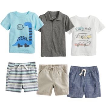 Baby Boy Jumping Beans® Mix & Match Outfits