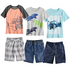Boys 4-10 Jumping Beans® Mix & Match Outfits