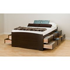 Prepac Tall Platform Storage Beds
