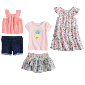 Baby Girl Jumping Beans® Spring Mix & Match Collection