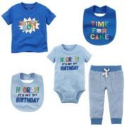 Baby Boy Carter's Birthday Mix & Match Collection