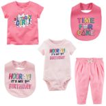 Baby Girl Carter's Birthday Mix & Match Collection