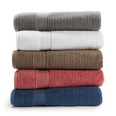 Sonoma Goods for Life™ Textured Quick Drying Bath Towel Collection with Hygro® Technology
