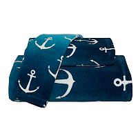 Destinations Ombre Anchor Bath Towel Collection