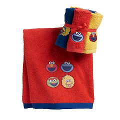 Sesame Street Bath Towel Collection
