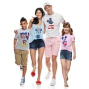 Disney's Mickey & Minnie Mouse Patriotic Family Graphic Tee Collection