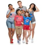 Americana Family Graphic Tee Collection