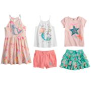 Disney's The Little Mermaid Ariel Toddler Girl Mix & Match Outfits by Jumping Beans®