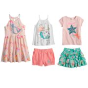 Disney's The Little Mermaid Ariel Girls 4-7 Mix & Match Outfits by Jumping Beans®