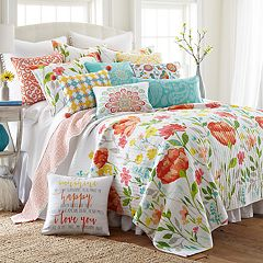 Levtex Bellflower Quilt Collection