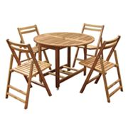 Merry Products Folding Table and Chairs Collection