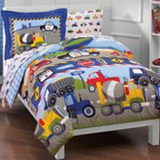 Dream Factory Trucks Tractors and Cars Bedding Coordinates