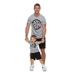 Dad & Me Pizza Graphic Tees
