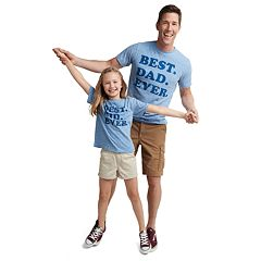 Dad & Me Best Ever Graphic Tees
