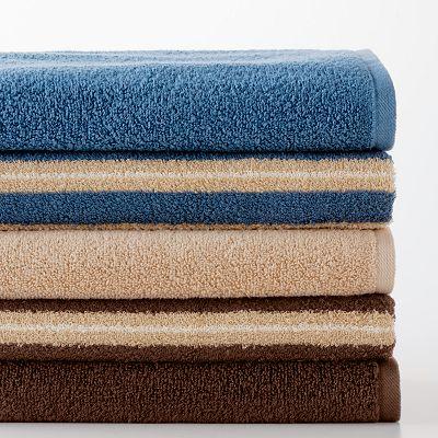 Croft and Barrow Quick-Drying Bath Towels