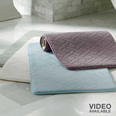 Memory Foam Cushioned Bath Rugs (Various Sizes/Colors) starting at $7