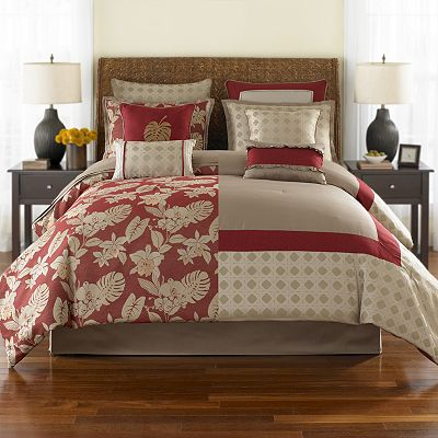 Home Classics Pompano 8-pc. Reversible Bed Set