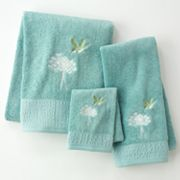 Garden Pond Bath Towels