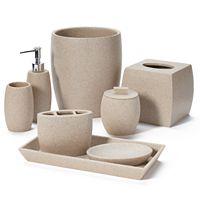 Home Classics® Stone Bathroom Accessories Collection